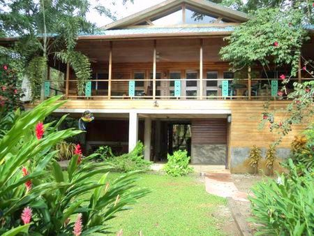 (CA-100) TROPICAL 4 BEDROOM WATERFRONT HOME ON CARENERO