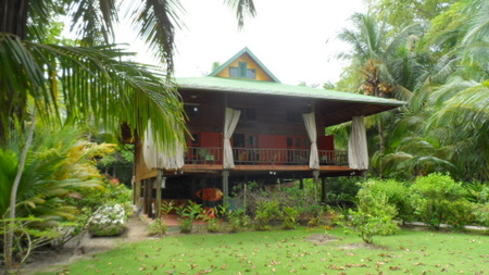 (CA-4500) TITLED WATERFRONT HOME ON ISLA CARENERO