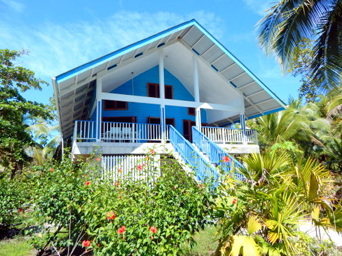 Small tropical beach house pictures