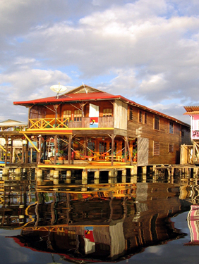 (CO-2500) WATERFRONT GUEST HOUSE FOR SALE ON ISLA COLON!