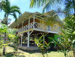 (C0-2590) TITLED OCEAN VIEW HOME ON ISLA COLON